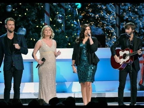 "Lady Antebellum ""Let It Snow"" Ft. Jennifer Nettles Performance CMA Country Christmas on ABC"
