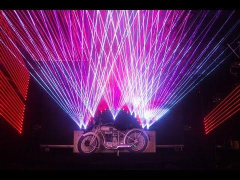 Kvant Laser Show - Prolight+Sound 2018, Frankfurt