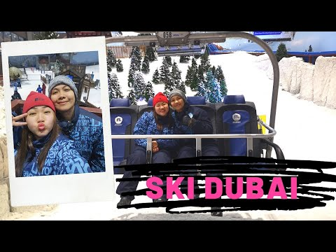 Exploring Dubai #4 Dubai Indoor Ski & Snow Resort
