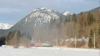 DB 111.039-4 Garmisch-Partenkirchen - Klais 27.1.2013
