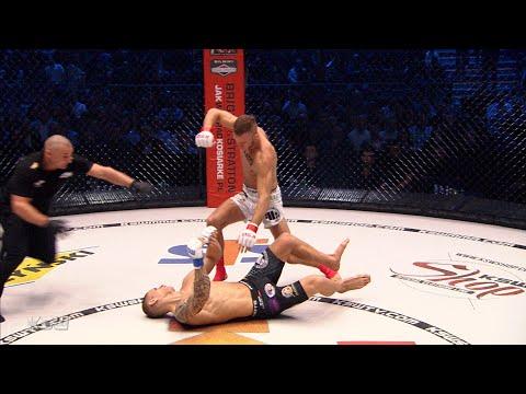 KSW 52: Maciej Kazieczko brutalnie nokautuje Michaela Dubois