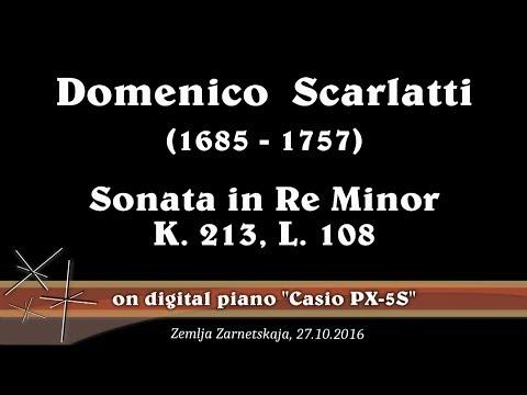 Доменико Скарлатти - Соната для фортепиано, K 131