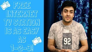 How to make your own Internet TV Station for FREE