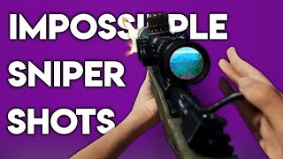 50 IMPOSSIBLE SNIPER SHOTS IN PUBG