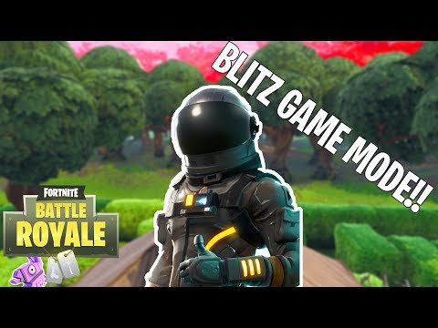 NEW GAME MODE BLITZ!!! BEST GAME MODE EVER! (Fortnite Battle Royale)