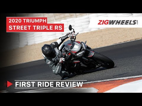 2020 Triumph Street Triple RS First Ride Review | Launch, Exhaust Sound, Features & More | ZigWheels