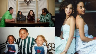 'Black' biracial twin with 'white' sister reveals the challenges of growing up looking so different