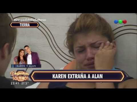 ¿Se rompió la confianza entre Alan y Karen? - Despedida de Solteros