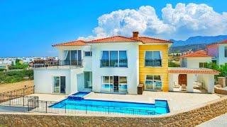 Роскошная вилла с бассейном в райском уголке Северного Кипра