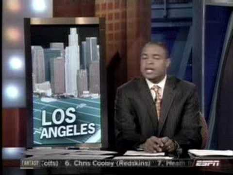 LA Stadium on ESPN