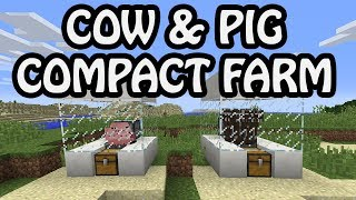 EASY COW & PIG FARM | Minecraft 1.16.1 Tutorial