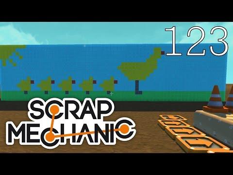 Scrap Mechanic [#123] Mapa Co-Op By Ludrol (Mapa Widza)