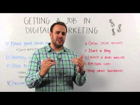 How To Get a Job In Digital Marketing | Marker Monday