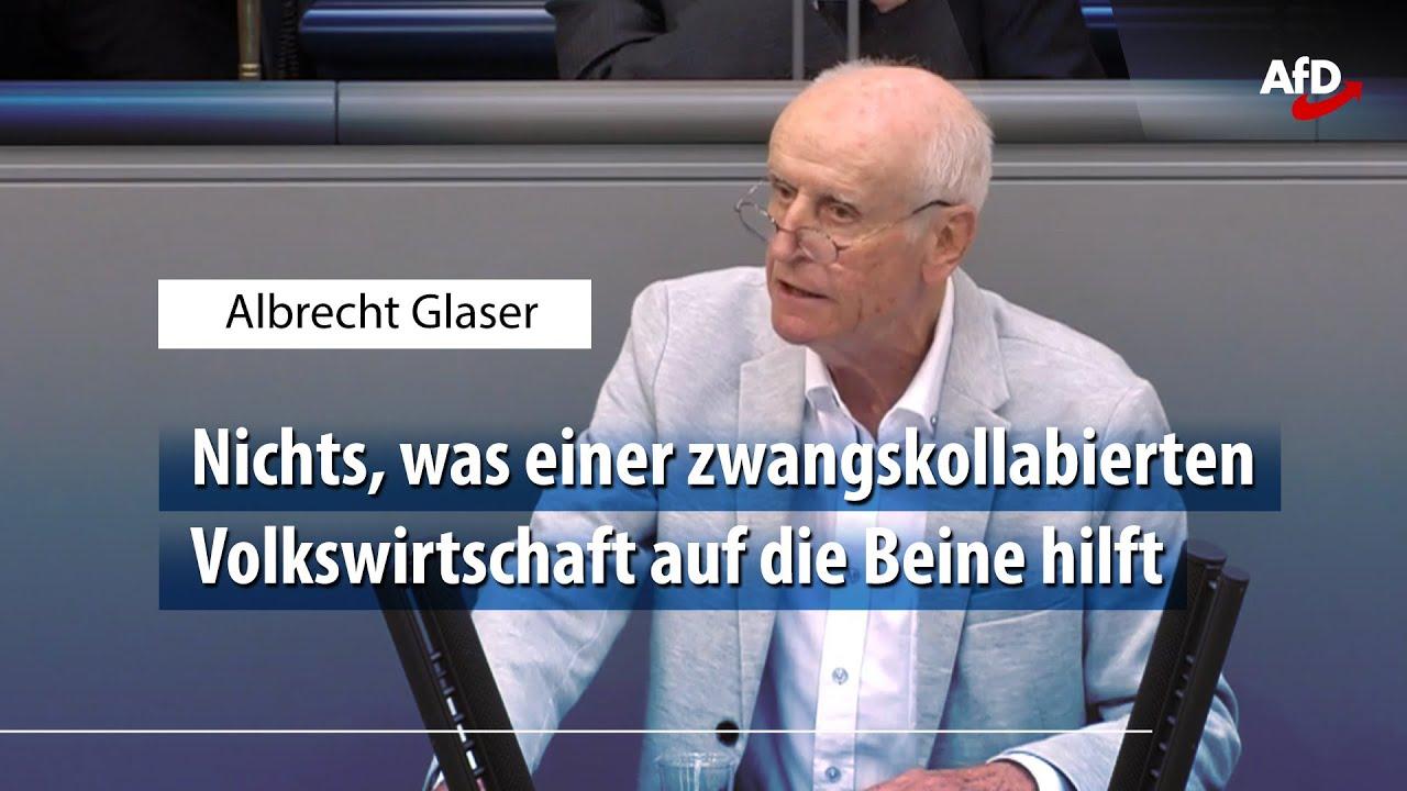 AfD TV - Albrecht Glaser zum zweiten Corona-Steuerhilfegesetz