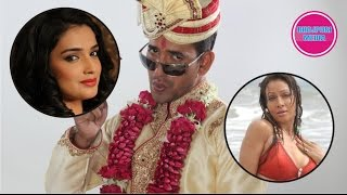 Who's Dinesh Lal Yadav Past Life Wife ? II Pakhi Hedge, Aamrapali Dueby