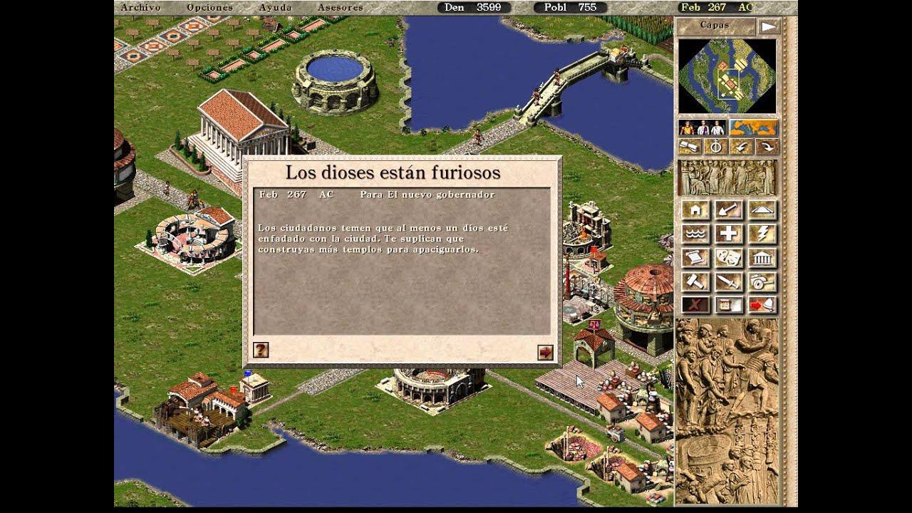 caesar iii arquitecto en tarragona gameplay espaol