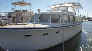 1964 Hatteras 41 Double Cabin Cruiser Yacht For Sale or Trade 843-532-1759