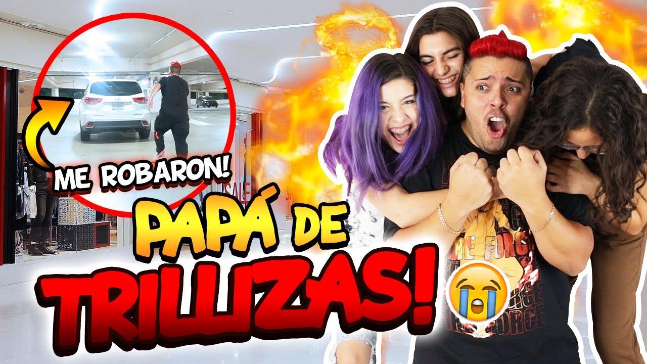 Download 24 HORAS SIENDO PAPA DE TRILLIZAS LOCAS!  | Oso 🐻