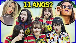 Grupo de KPOP reagindo à Melody e MC Loma ft. BUSTERS