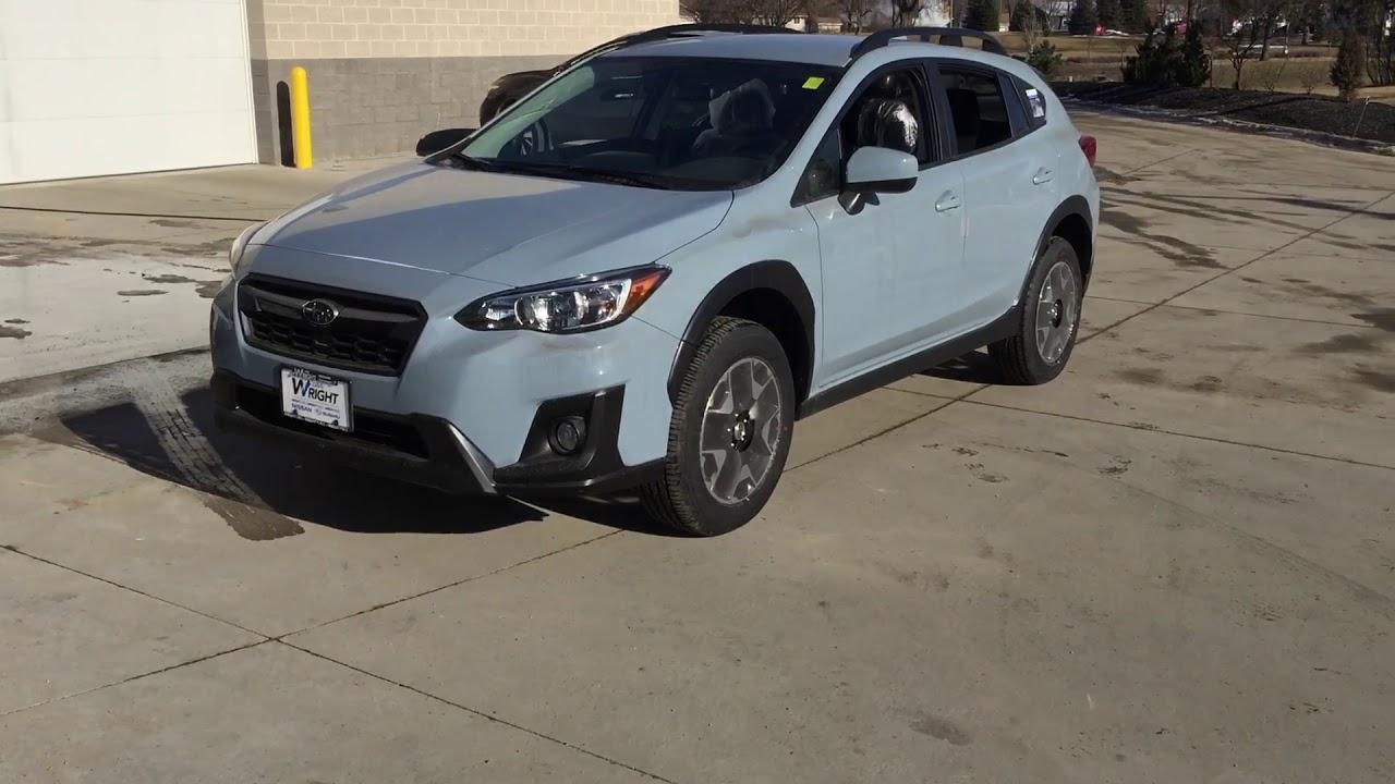 2018 Subaru Crosstrek Khaki Grey Youtube