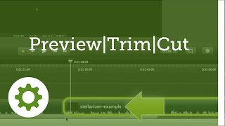Camtasia for Mac 2 - #5: Editing essentials: Preview, Trim, Cut