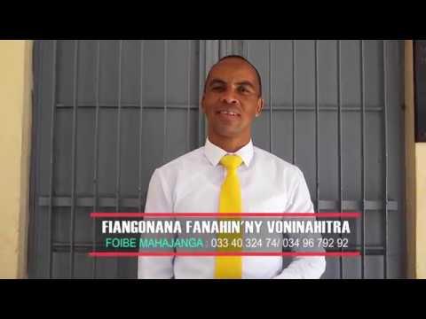 FANAHIN'NY VONINAHITRA FARAFANGANA 26 08 2019 - Pasteur Isidore Andrianirina