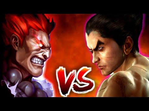 Akuma VS Kazuya | The Strongest Vs The Demon