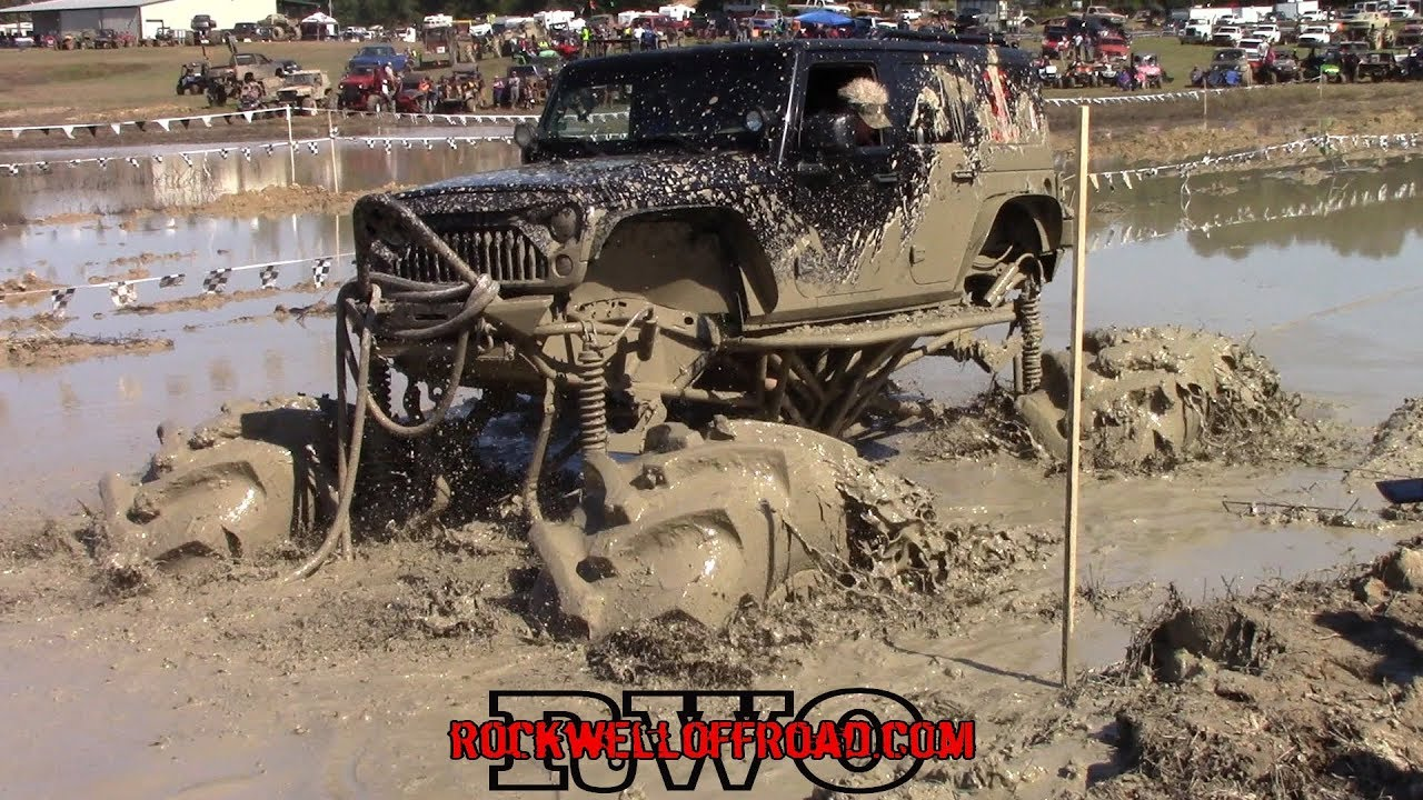 Monster Trucks In Mud At Mtm Bounty Hole Youtube