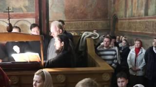 """In the Flesh Thou Didst Fall Asleep"" - Festive Chorus under Vitaly Kalachev"