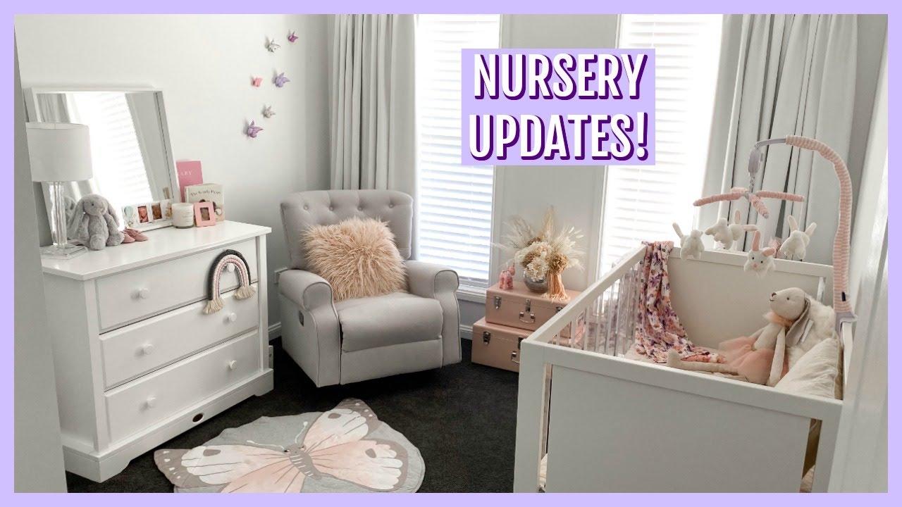 NURSERY UPDATES & BABY THINGS HAUL | Hannah Schroder - YouTube