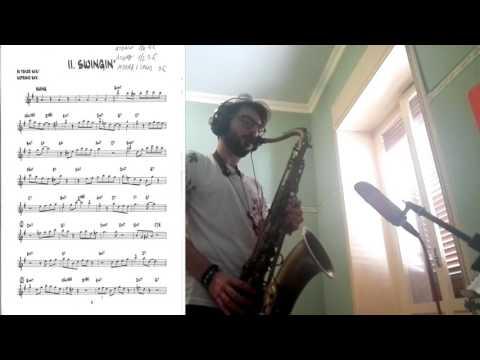 Tutorial linguaggio sax jazz - Plays Bob Mintzer (2)- Swingin