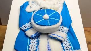 Снегурочка. Карнавальные костюмы к утреннику платья нарядные праздничные Киев. Обзор 63
