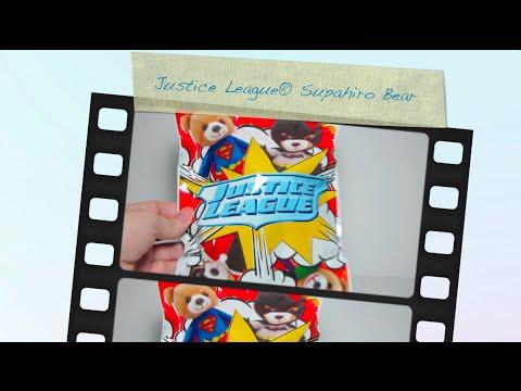 Justice League Supahiro Bear from 7-Eleven Malaysia