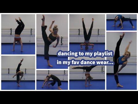 Dancing To My Playlist + Dancewear Haul!