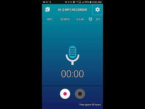 Hi-Q MP3 recorder: