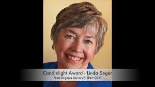 Candlelight Award from Regents University prt 1