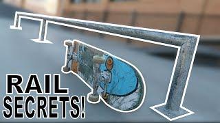 5 SECRETS TO SKATING RAILS