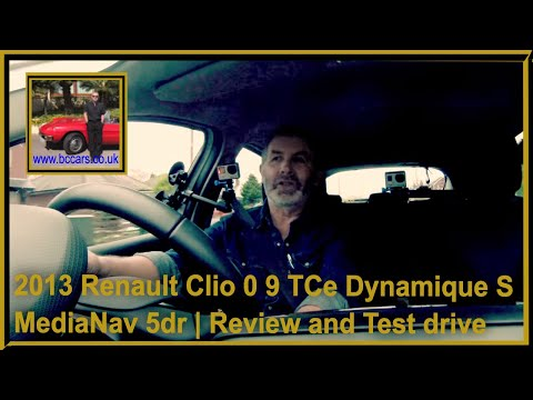 Review and Virtual Video Test drive In Our Renault Clio 0 9 TCe Dynamique S MediaNav 5dr