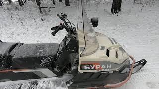 БУРАН ЛИДЕР А.Д.Е. обзор, покатушки, запуск холодного двигателя.