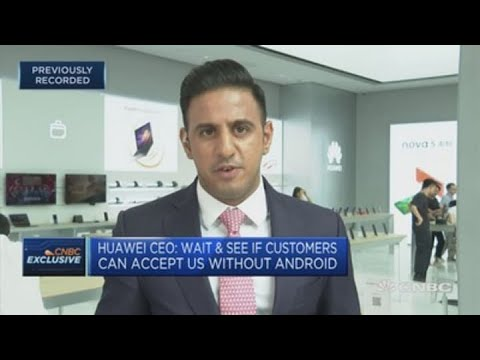 Huawei Launches Its Mate 30 Smartphone Without Android Apps | Squawk Box Europe