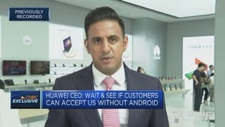 Huawei launches its Mate 30 smartphone without Android apps   Squawk Box Europe
