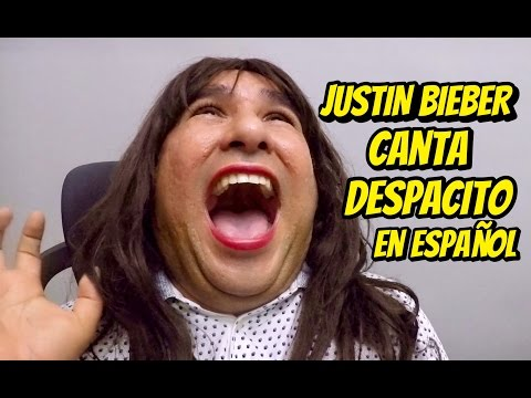 Cuando Justin Bieber canta Despacito en español - JR INN