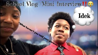 After School Vlog?‼️//Mini Interview (must watch) Ft.Friends