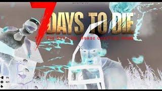 7 days to die. Кооператив. Бур, байк, бензопила, Магнум и ужасная смерть!