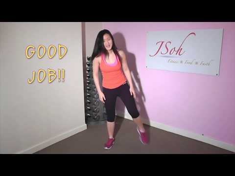 Squat Challenge for Slimmer Thighs in 4 weeks (3:30mins)