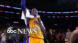 Kobe Bryant, 13-year-old daughter die in helicopter crash that killed 9 l ABC News