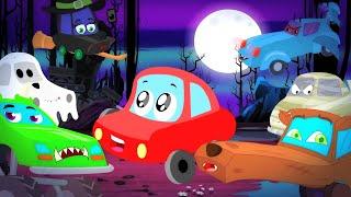 Привет это Хэллоуин потешки детские песни мультики Little Red Car Russia анимация