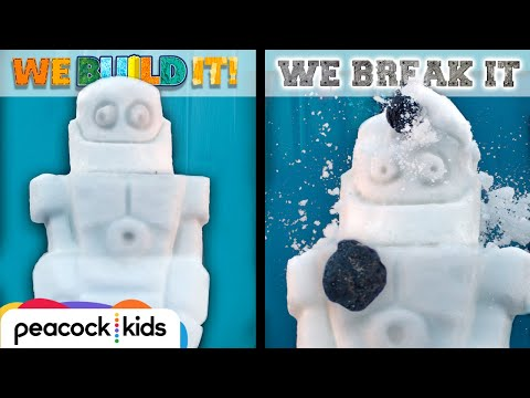 Snow-Bot meets Coal Blaster | WE BUILD IT WE BREAK IT