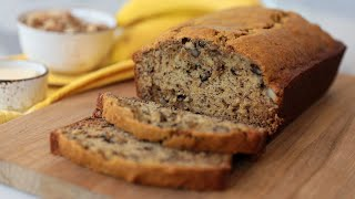 The PERFECT Banana Bread Recipe - Baking Basics