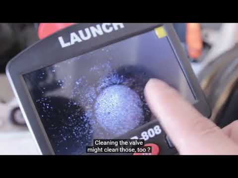 VSP 808   Introduction and operation instruction   LAUNCH